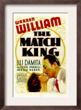The Match King, Lili Damita, Warren William, 1932 Posters