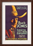South of the Rio Grande, Buck Jones, 1932 Poster