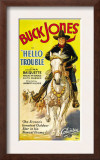 Hello Trouble, Buck Jones, 1932 Poster