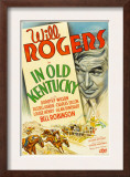 In Old Kentucky, Will Rogers, 1935 Art