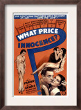 What Price Innocence, (Shall the Children Pay), 1933 Poster