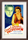 Ann Carver's Profession, Gene Raymond, Fay Wray on Midget Window Card, 1933 Posters