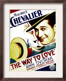 Way to Love, Maurice Chevalier on Midget Window Card, 1933 Prints