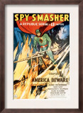 Spy Smasher, Kane Richmond in 'Chapter 1: America Beware', 1942 Art