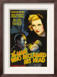 The Man Who Reclaimed His Head, Lionel Atwill, Claude Rains, Joan Bennett, 1934 Posters