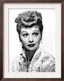 Portrait of Lucille Ball Poster