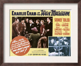 Charlie Chan at the Wax Museum, Inset Top and Bottom Second from Left: Sidney Toler, 1940 Posters