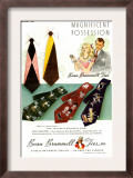 Beau Brummell, Magazine Advertisement, USA, 1940 Prints