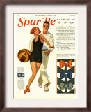 Spur Tie, Magazine Advertisement, USA, 1929 Print