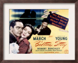 Bedtime Story, Fredric March, Loretta Young, Robert Benchley, 1941 Prints