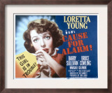 Cause for Alarm, Loretta Young, 1951 Print