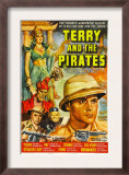 Terry and the Pirates, 1940 Print