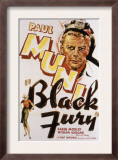 Black Fury, Paul Muni, 1935 Art