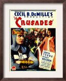 The Crusades, Henry Wilcoxon, Loretta Young on Midget Window Card, 1935 Prints