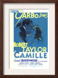 Camille, Robert Taylor, Greta Garbo, 1936 Art