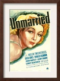 Unmarried, Helen Twelvetrees, 1939 Poster