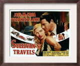 Sullivan&#39;s Travels, Veronica Lake, Joel Mccrea, 1941 Posters