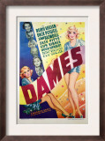 Dames, Ruby Keeler, Dick Powell, Joan Blondell, Zasu Pitts, Guy Kibbee, Hugh Herbert, 1934 Poster