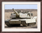 M1 Abrams Tank at Camp Warhorse Prints by Stocktrek Images