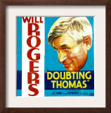 Doubting Thomas, Will Rogers, 1935 Art