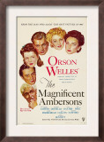 The Magnificent Ambersons, Agnes Moorehead, Dolores Costello, 1942 Poster