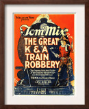 The Great K&A Train Robbery, Tom Mix, 1926 Prints