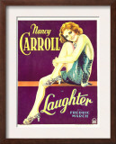 Laughter, Nancy Carroll on Window Card, 1930 Art