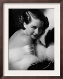 Norma Shearer, c.1934 Poster