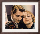 Dancing Lady, Clark Gable, Joan Crawford, 1931 Poster
