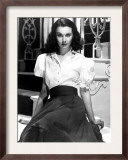Portrait of Vivien Leigh Posters