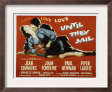 Until They Sail, Paul Newman, Jean Simmons, 1957 Posters