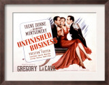 Unfinished Business, Robert Montgomery, Irene Dunne, Preston Foster, 1941 Posters