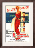 Five Against the House, with Kim Novak, Guy Madison, Brian Keith, Kerwin Mathews, Alvy Moore, 1955 Prints