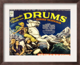 Drums, Valerie Hobson, Sabu, 1938 Poster