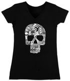 Women&#39;s: V-Neck- Sex, Drugs, Rock &amp; Roll (Slim Fit) T-Shirt