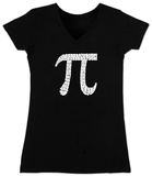 Juniors: V-Neck- PI T-Shirt