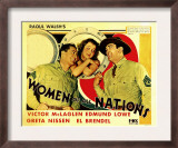Women of All Nations, Edmund Lowe, Greta Nissen, Victor Mclaglen, 1931 Prints