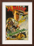 The Oregon Trail, (Poster Art), John Wayne, 1936 Prints