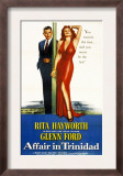 Affair in Trinidad, Glenn Ford, Rita Hayworth, 1952 Posters