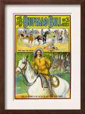The Life of Buffalo Bill, Poster Art, 1912 Art
