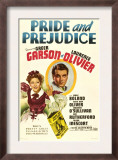 Pride and Prejudice, Greer Garson, Laurence Olivier, 1940 Prints
