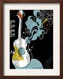 Psychedelic Guitar Prints