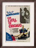 The Earl of Chicago, Robert Montgomery, Edward Arnold, 1940 Print