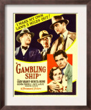 Gambling Ship, Jack La Rue, Roscoe Karns, Cary Grant, 1933 Prints