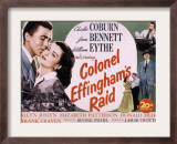 Colonel Effingham's Raid, Joan Bennett, William Eythe, Charles Coburn, 1946 Posters