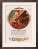 Wurlitzer, Magazine Advertisement, USA, 1920 Poster