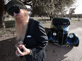 Billy F. Gibbons Hot Rod Photographie par David Perry