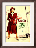 Fifth Avenue Girl (Aka 5th Ave Girl), Ginger Rogers, 1939 Prints