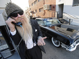 Billy F. Gibbons Hot Rod Photographic Print by David Perry