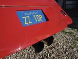 Billy F. Gibbons ZZ Top Car Fotografisk tryk af David Perry